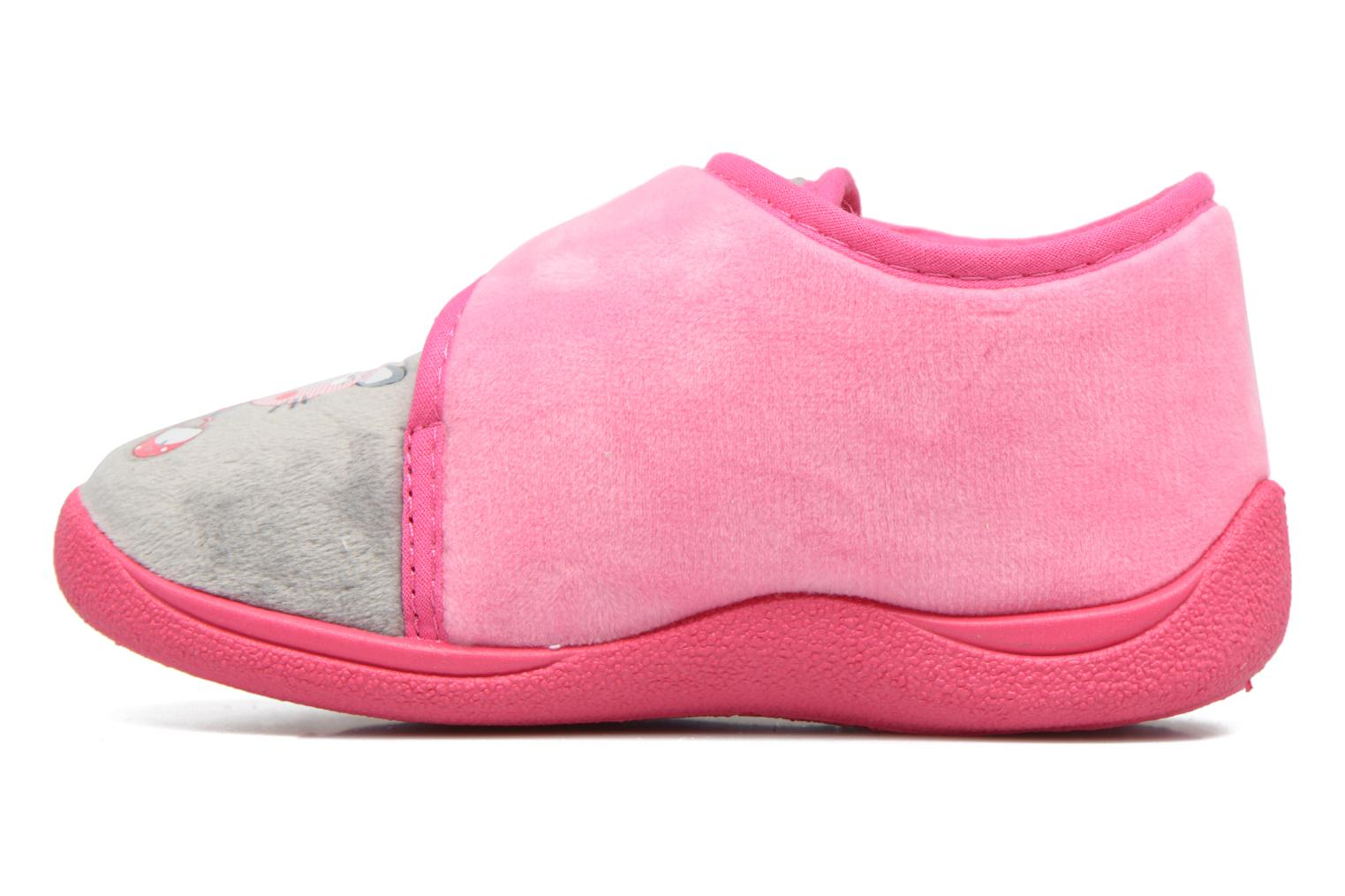 Slippers Rondinaud RECENT Pink front view