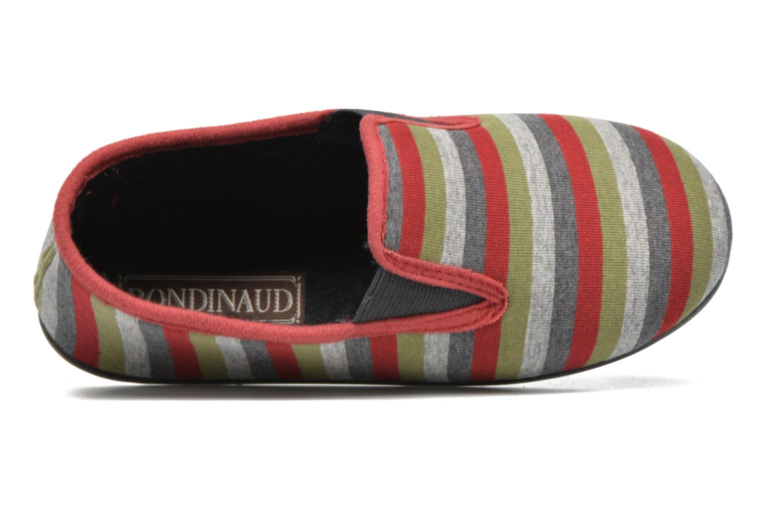 Slippers Rondinaud JAVA Grey view from the left