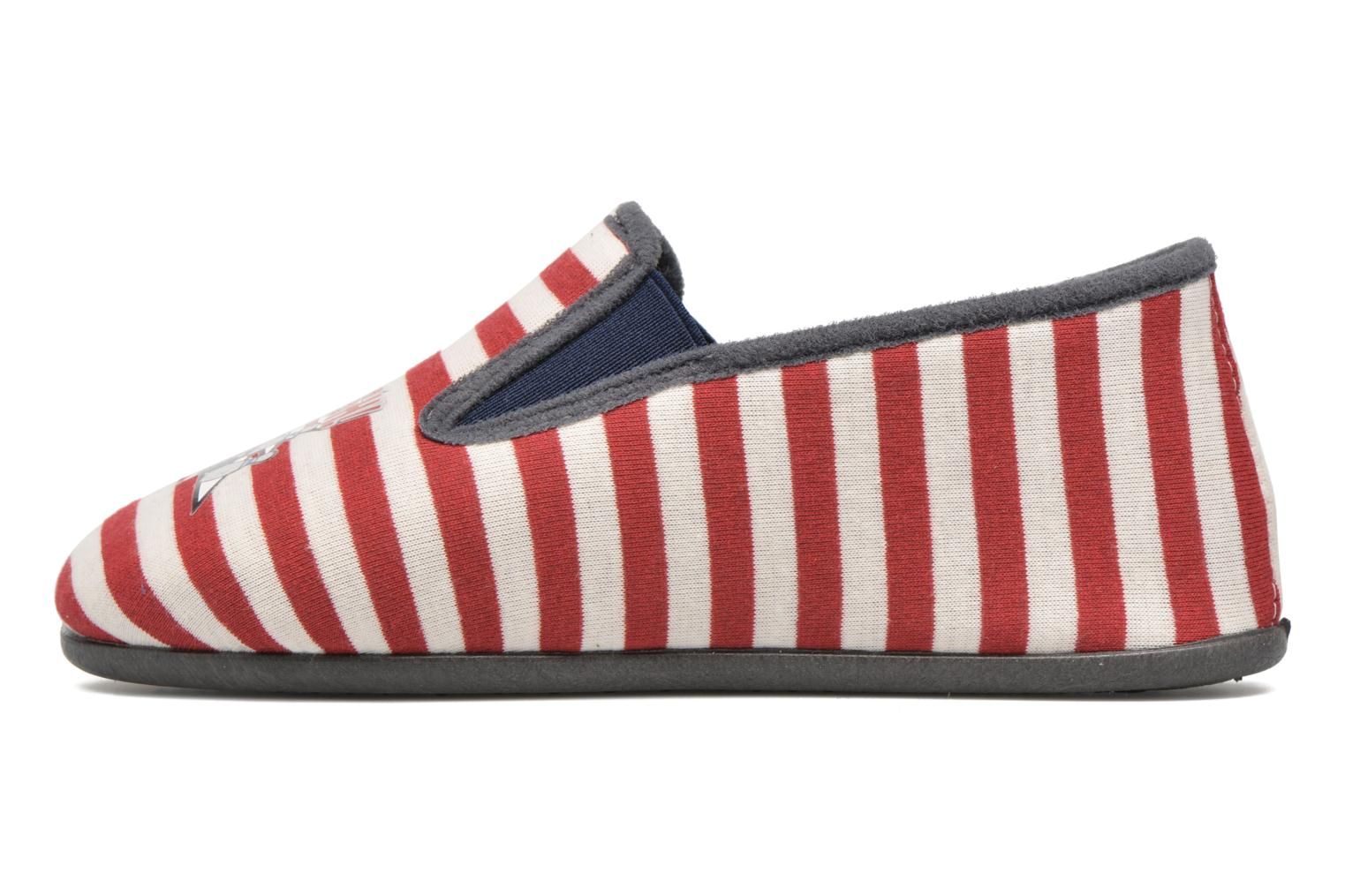 Chaussons Rondinaud JAVA Rouge vue face