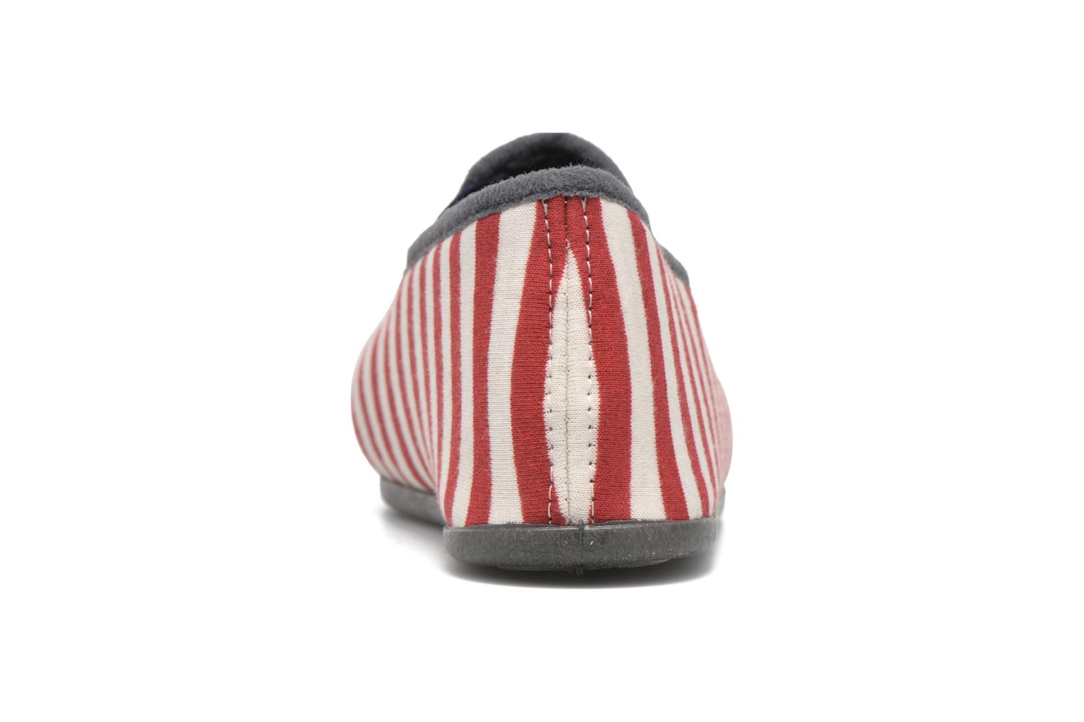 Chaussons Rondinaud JAVA Rouge vue droite