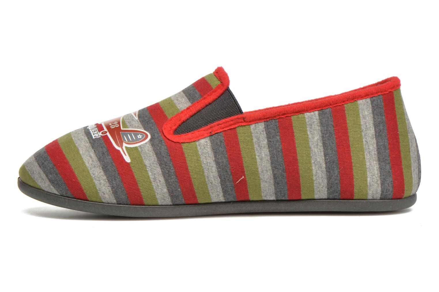Slippers Rondinaud JAVA Multicolor front view