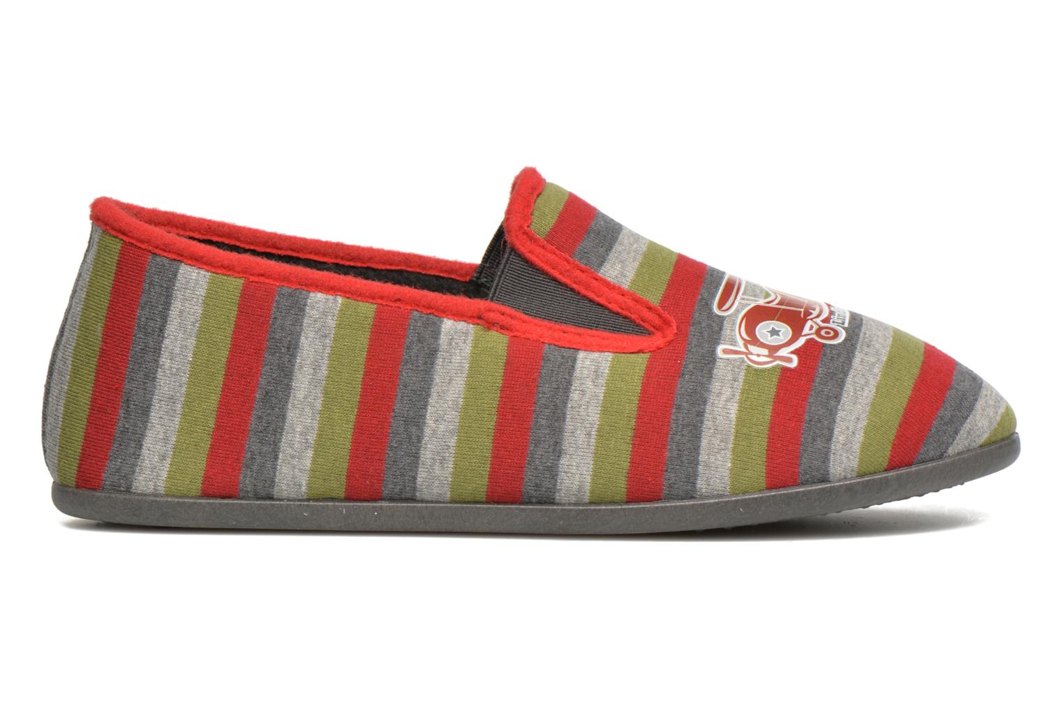 Slippers Rondinaud JAVA Multicolor back view