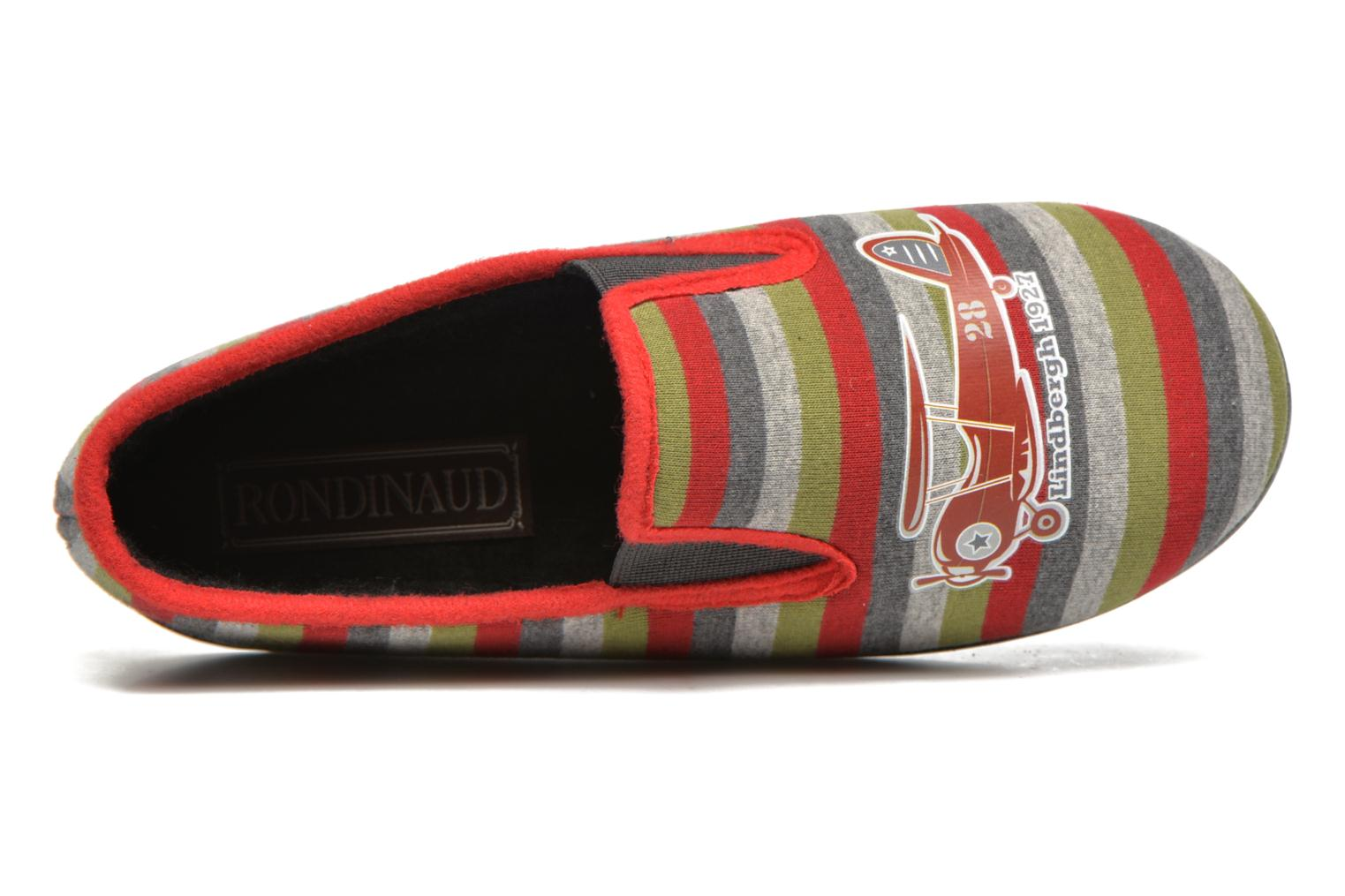 Slippers Rondinaud JAVA Multicolor view from the left