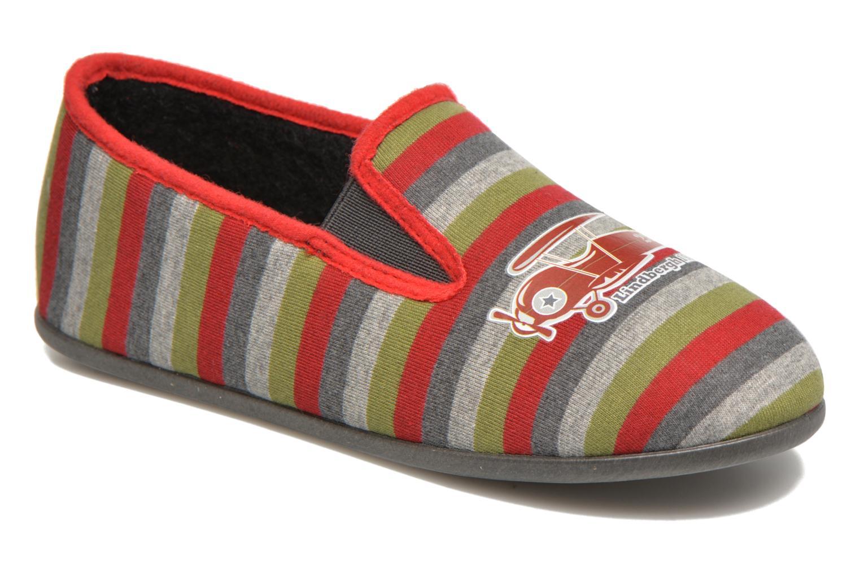 Chaussons Rondinaud JAVA Multicolore vue détail/paire
