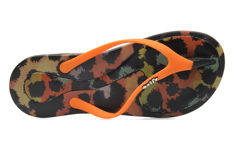 Prints W Leopard Orange