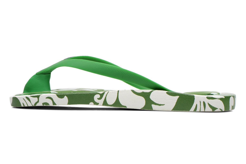 Flip flops & klipklapper Ozify Prints M Grøn se forfra