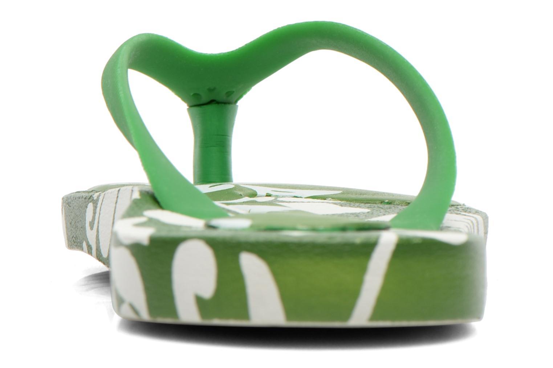 Flip flops & klipklapper Ozify Prints M Grøn Se fra højre