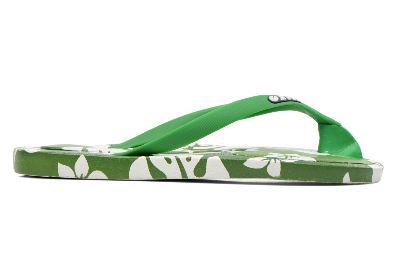 Flip flops & klipklapper Ozify Prints M Grøn se bagfra