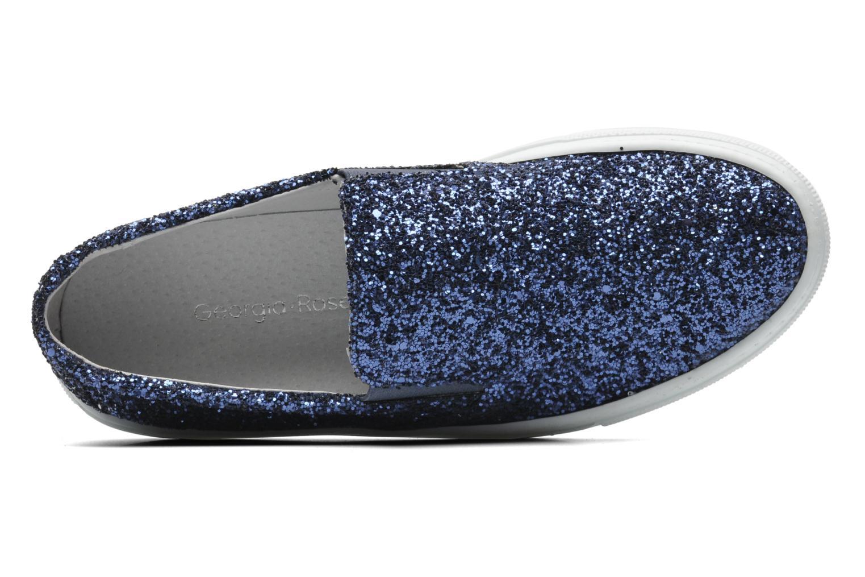 Sneaker Georgia Rose Periette blau ansicht von links