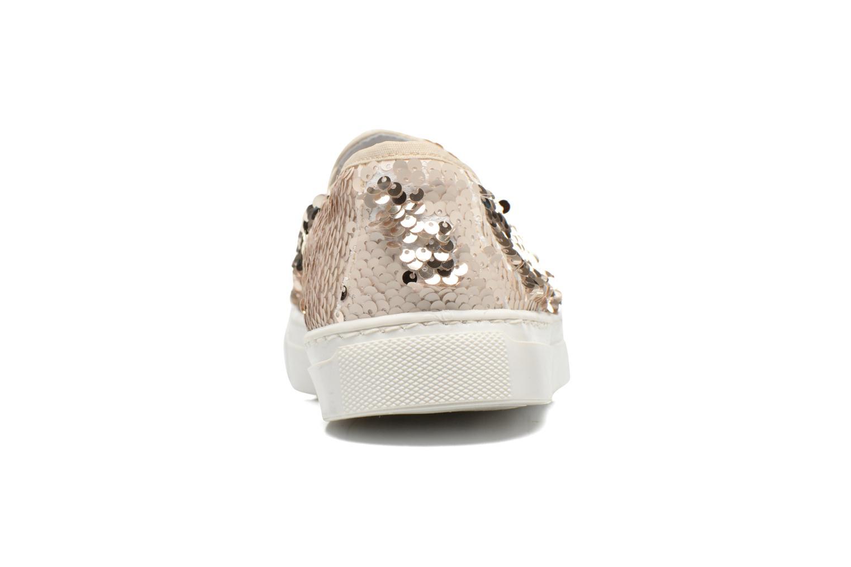 Sneakers Georgia Rose Periette Oro e bronzo immagine destra