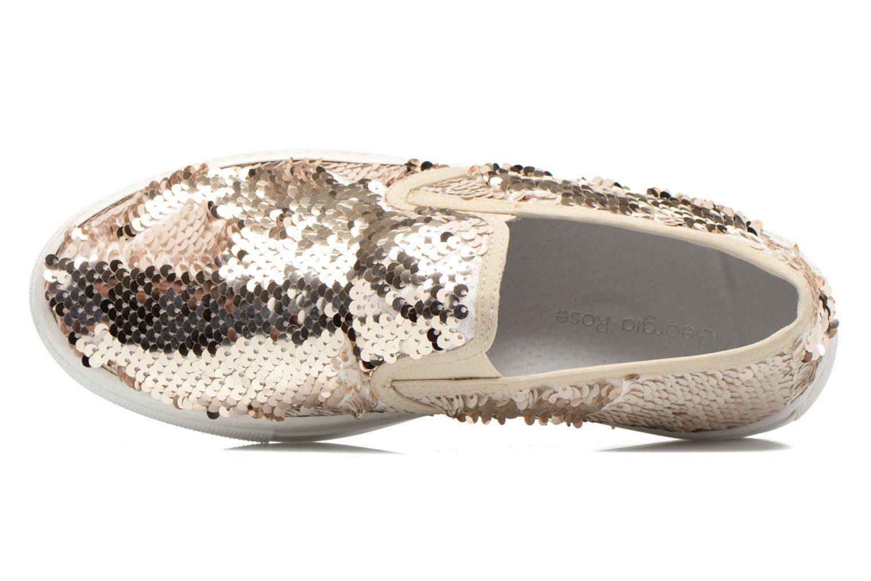 Sneakers Georgia Rose Periette Oro e bronzo immagine sinistra