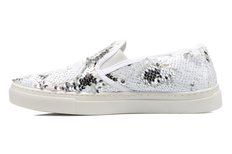 Sneakers Georgia Rose Periette Zilver voorkant