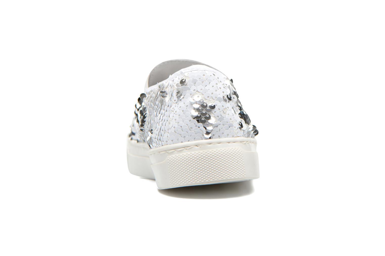 Sneakers Georgia Rose Periette Zilver rechts