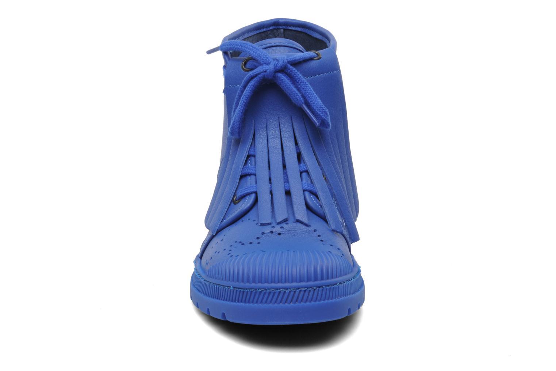 Baskets Pataugas Authentique JCDC Golf Bleu vue portées chaussures