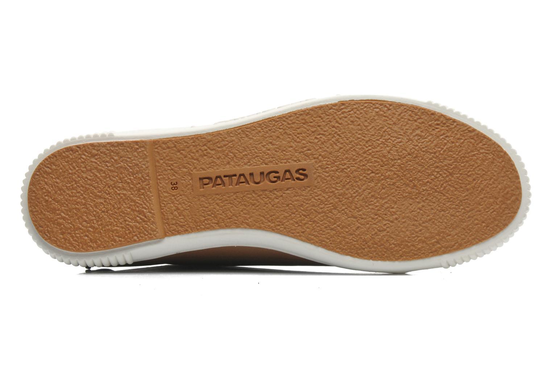Sneaker Pataugas Barth braun ansicht von oben