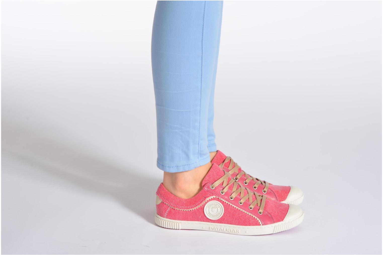 Sneakers Pataugas Binoush Rosa immagine dal basso
