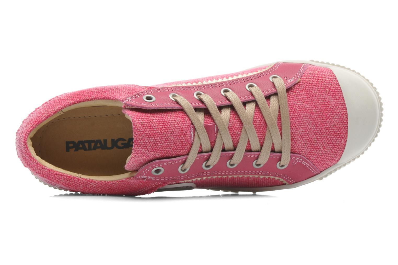 Sneakers Pataugas Binoush Rosa immagine sinistra