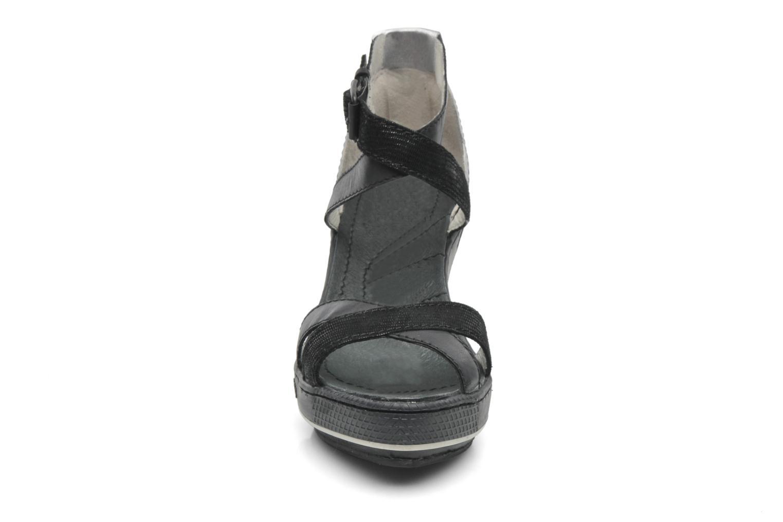 Sandales et nu-pieds Pataugas Gouy Noir vue portées chaussures