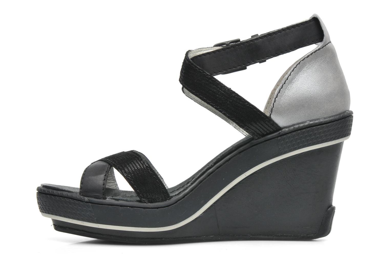Sandales et nu-pieds Pataugas Gouy Noir vue face