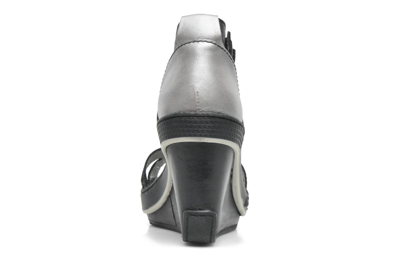 Sandales et nu-pieds Pataugas Gouy Noir vue droite