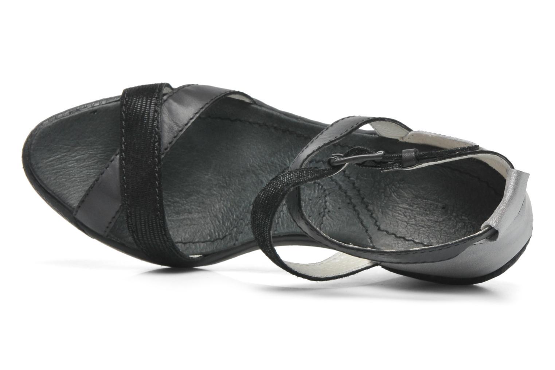 Sandales et nu-pieds Pataugas Gouy Noir vue gauche