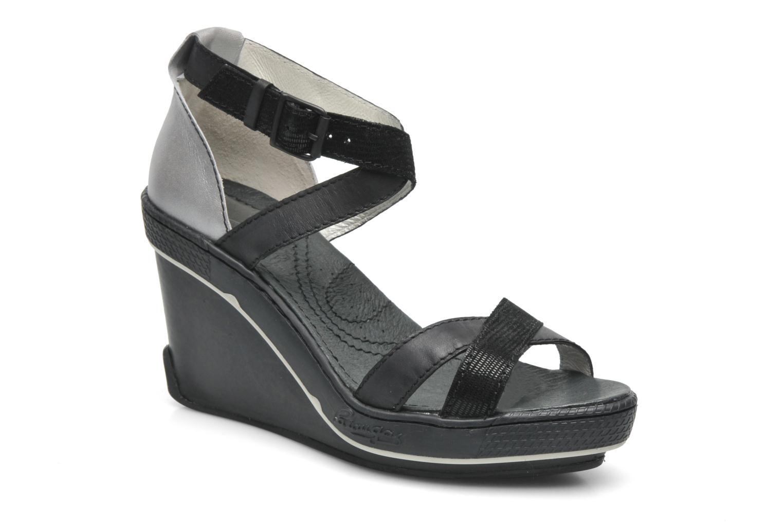 Sandales et nu-pieds Pataugas Gouy Noir vue détail/paire