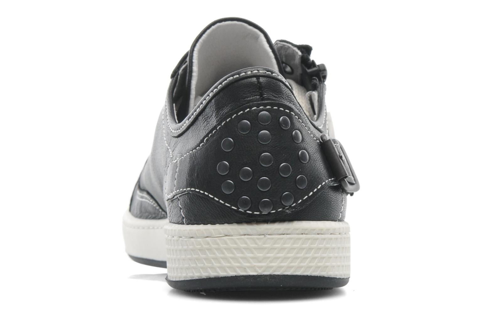 Trainers Pataugas JesterN Black view from the right