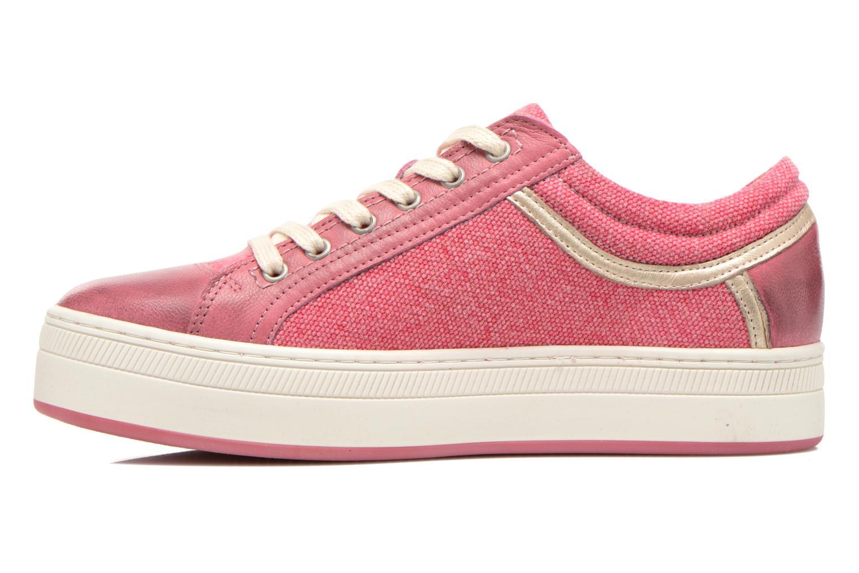 Sneaker Pataugas Pix rosa ansicht von vorne