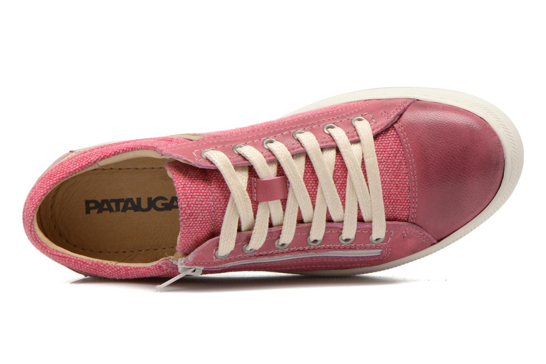 Sneaker Pataugas Pix rosa ansicht von links