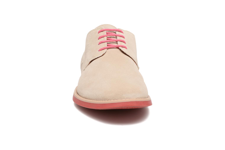 Chaussures à lacets Pataugas Hector H Beige vue portées chaussures