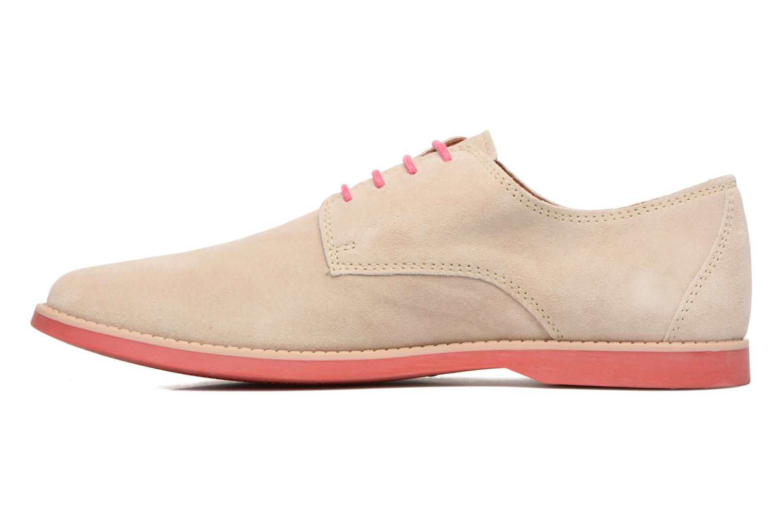 Chaussures à lacets Pataugas Hector H Beige vue face
