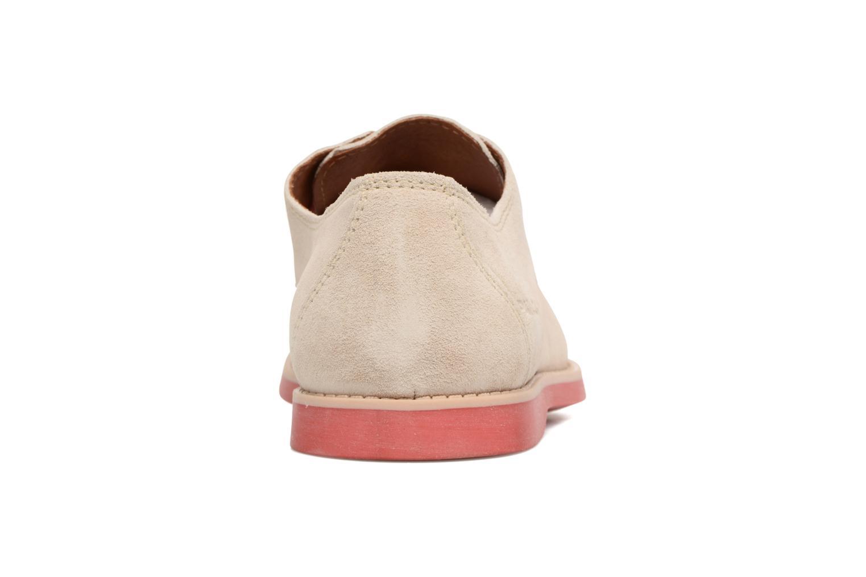 Chaussures à lacets Pataugas Hector H Beige vue droite