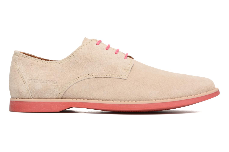Chaussures à lacets Pataugas Hector H Beige vue derrière
