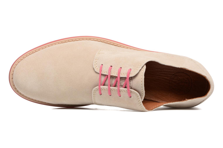 Chaussures à lacets Pataugas Hector H Beige vue gauche