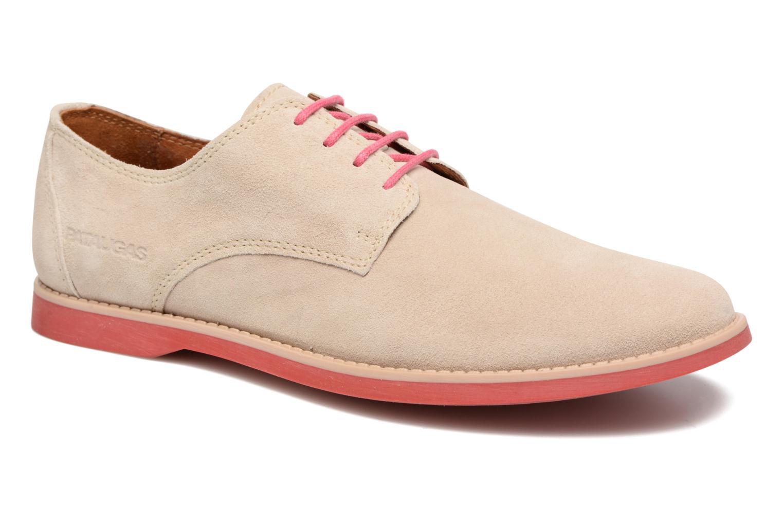 Chaussures à lacets Pataugas Hector H Beige vue détail/paire
