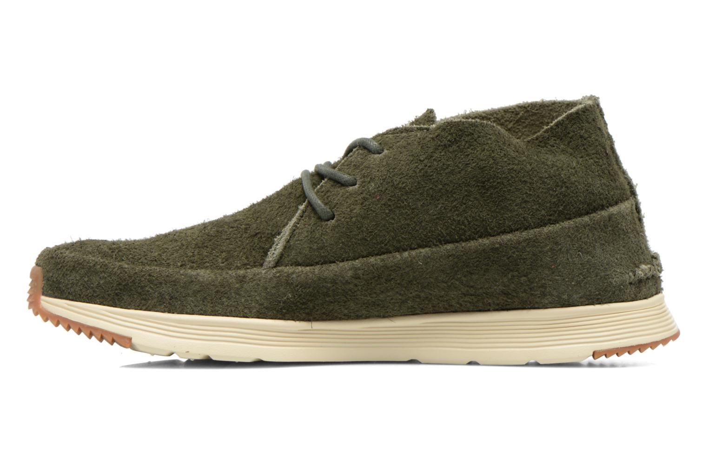 Sneaker Ransom Alta Mid grün ansicht von vorne