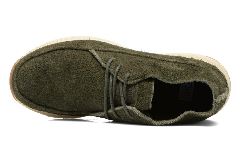 Sneaker Ransom Alta Mid grün ansicht von links
