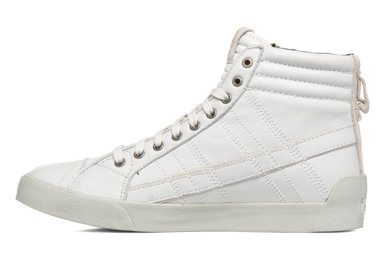 Baskets Diesel D-String Plus Blanc vue face