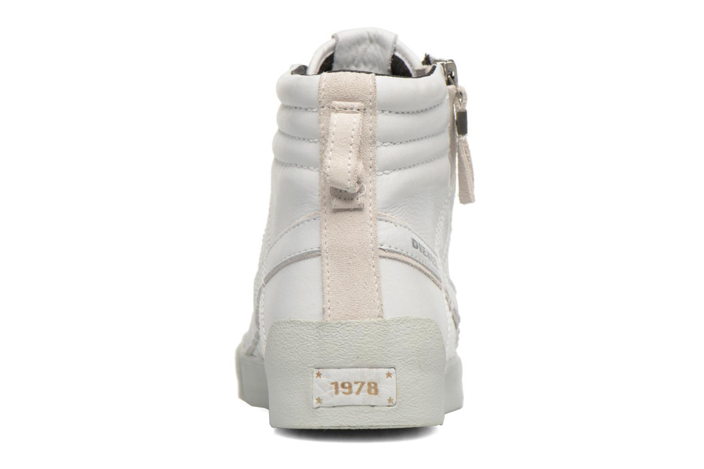 Baskets Diesel D-String Plus Blanc vue droite