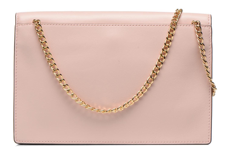 Mini Bags Michael Michael Kors LANA Envelope Clutch rosa ansicht von vorne