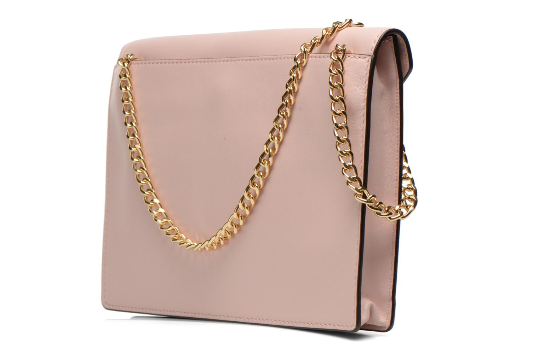 Mini Bags Michael Michael Kors LANA Envelope Clutch rosa ansicht von rechts