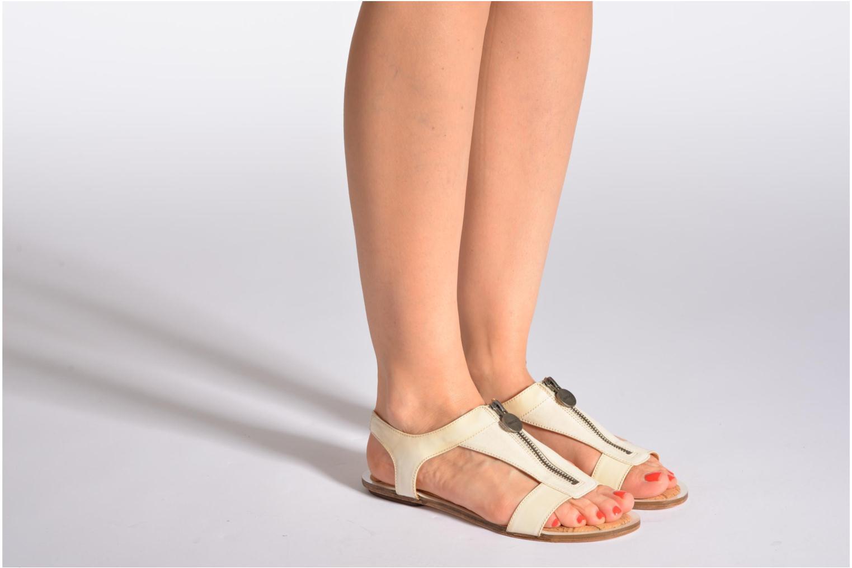 Sandales et nu-pieds Geox D Jolanda A D4275A Beige vue bas / vue portée sac