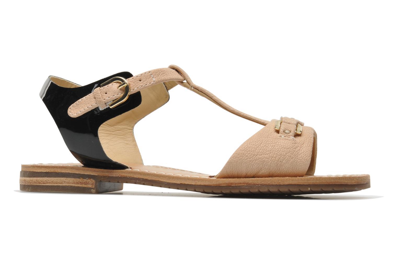 Sandales et nu-pieds Geox D Jolanda A D4275A Beige vue derrière