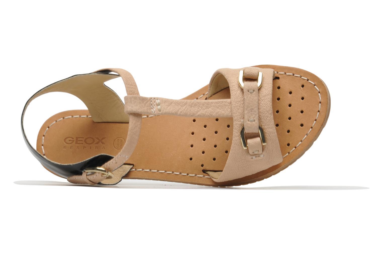 Sandales et nu-pieds Geox D Jolanda A D4275A Beige vue gauche