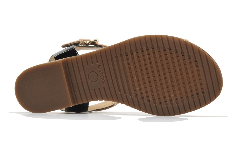 Sandales et nu-pieds Geox D Jolanda A D4275A Beige vue haut