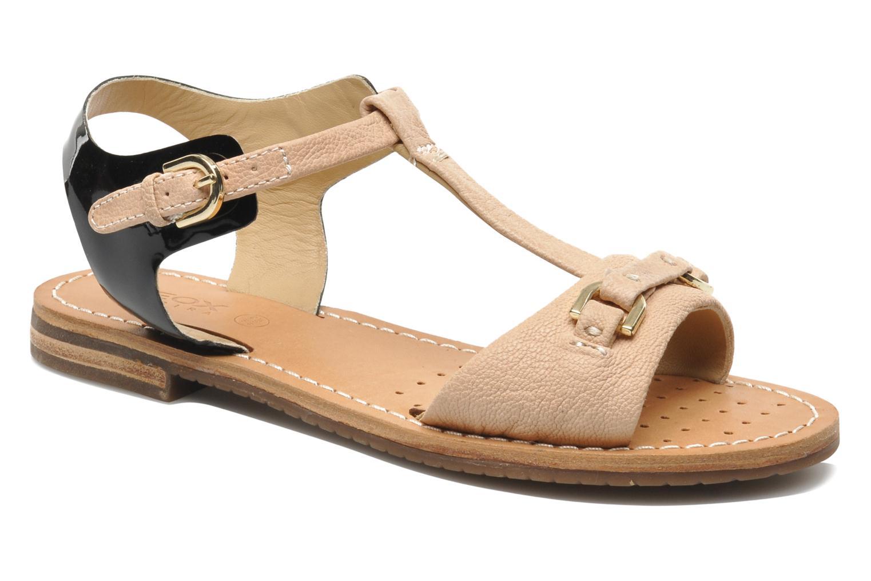 Sandales et nu-pieds Geox D Jolanda A D4275A Beige vue détail/paire