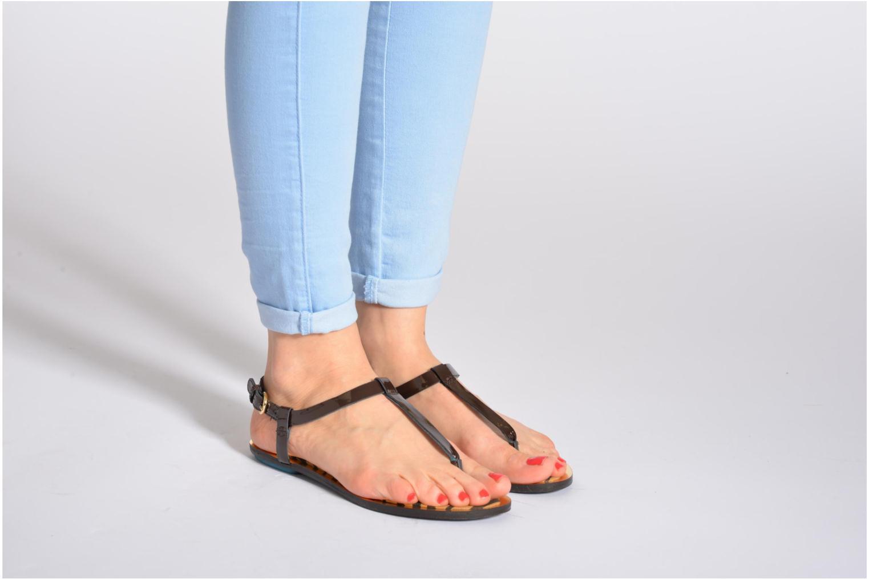 Sandales et nu-pieds Geox D Sweetness A Marron vue bas / vue portée sac