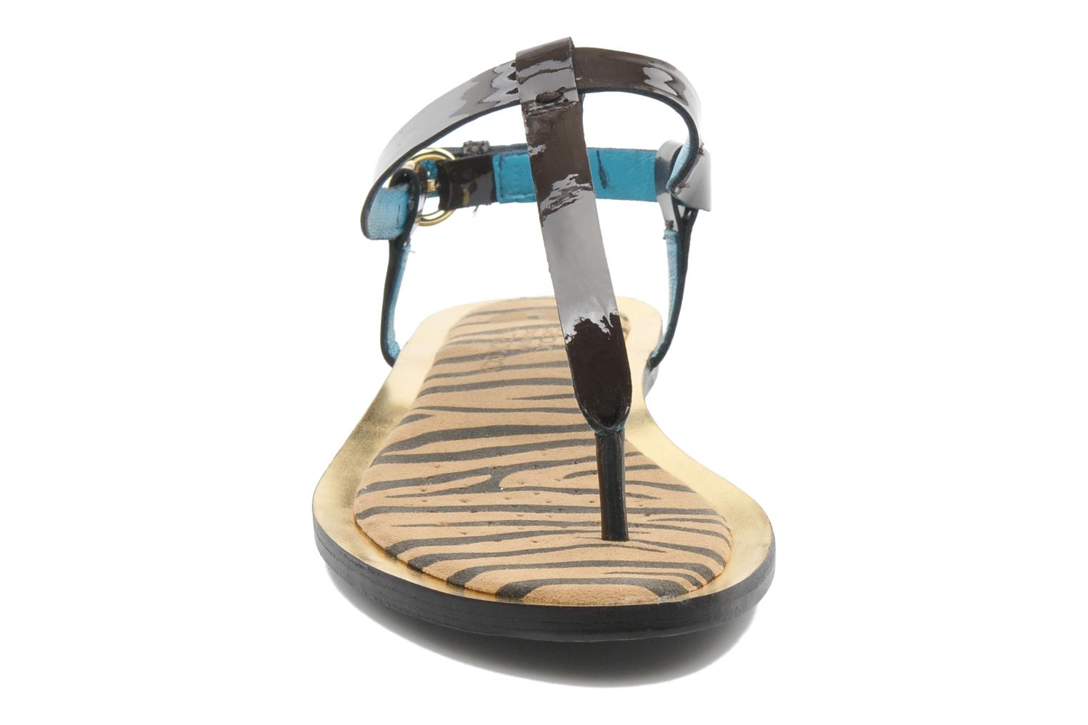 Sandals Geox D Sweetness A Brown model view