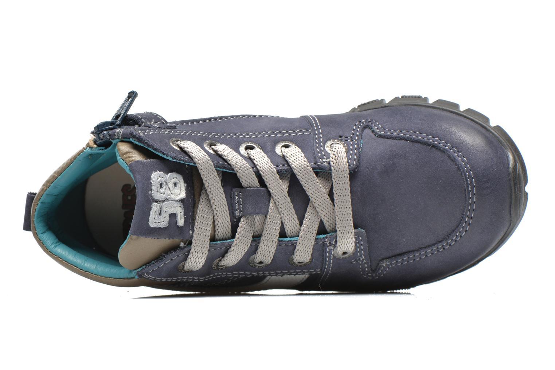 Sneaker Stones and Bones BACCO blau ansicht von links