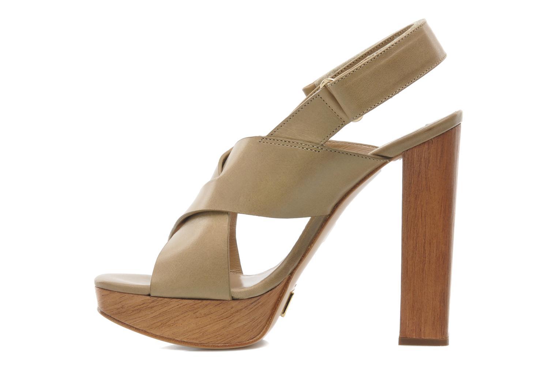 Sandales et nu-pieds Michael Michael Kors Mayana Beige vue face